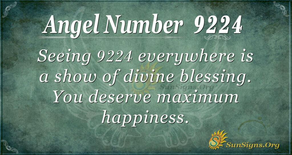 9224 angel number