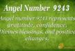 9243 angel number