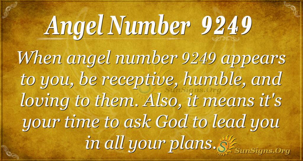 9249 angel number