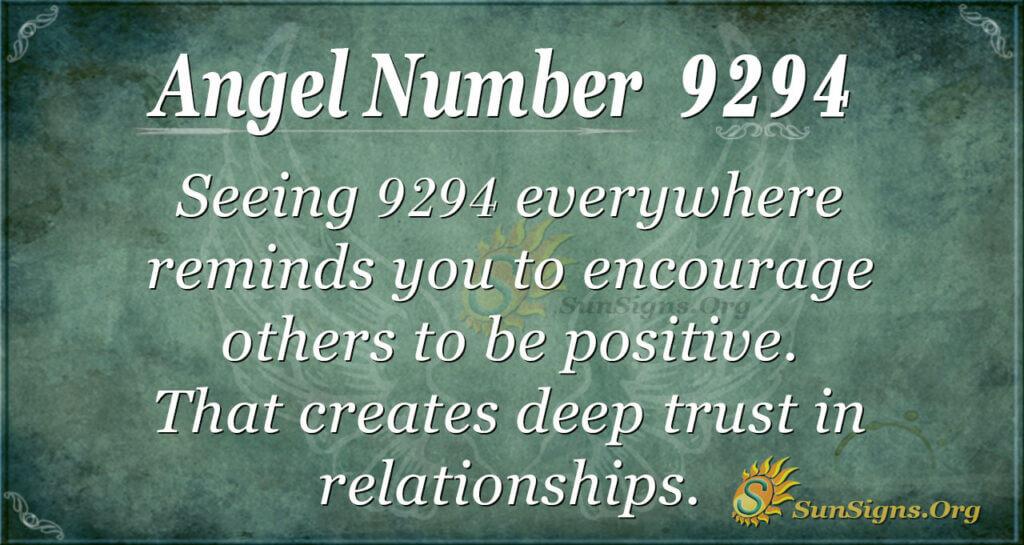 9294 angel number
