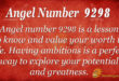 9298 angel number
