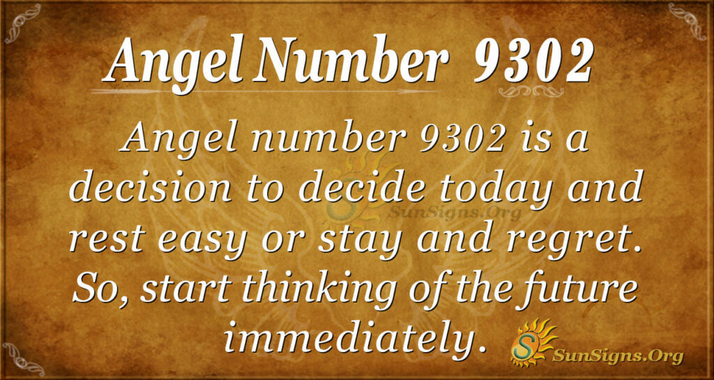 9302 angel number