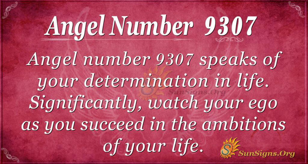 9307 angel number