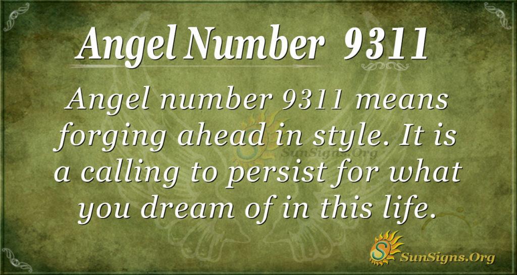 9311 angel number