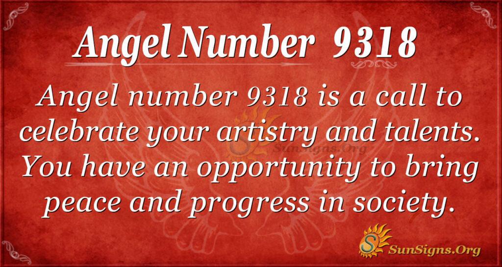9318 angel number