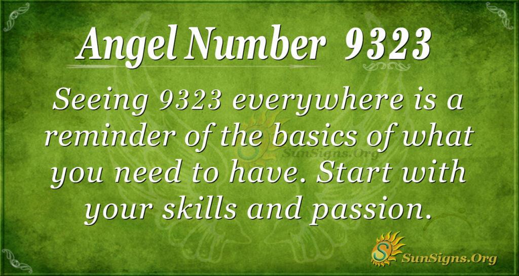 9323 angel number