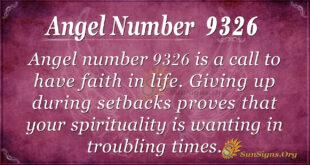 9326 angel number