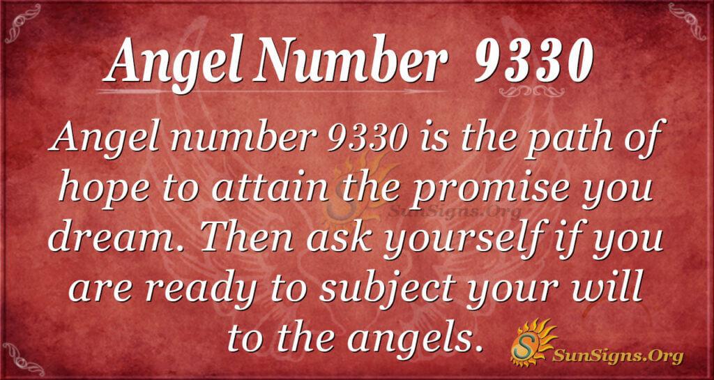 9330 angel number