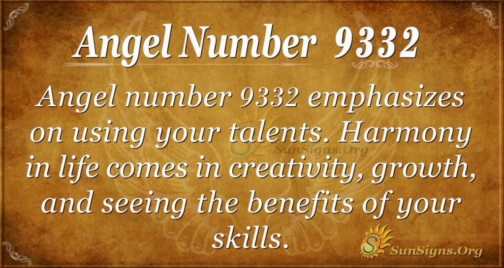 9332 angel number