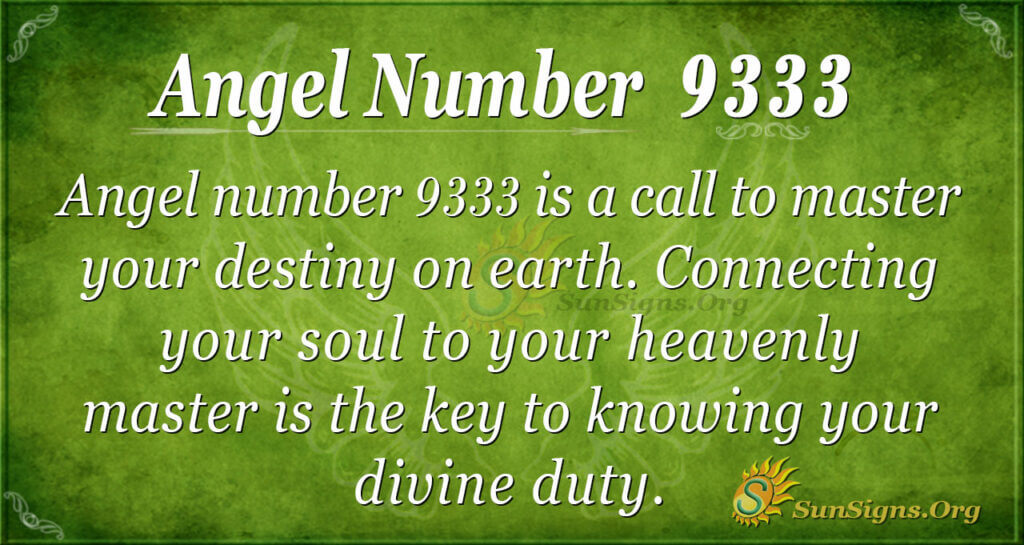 9333 angel number