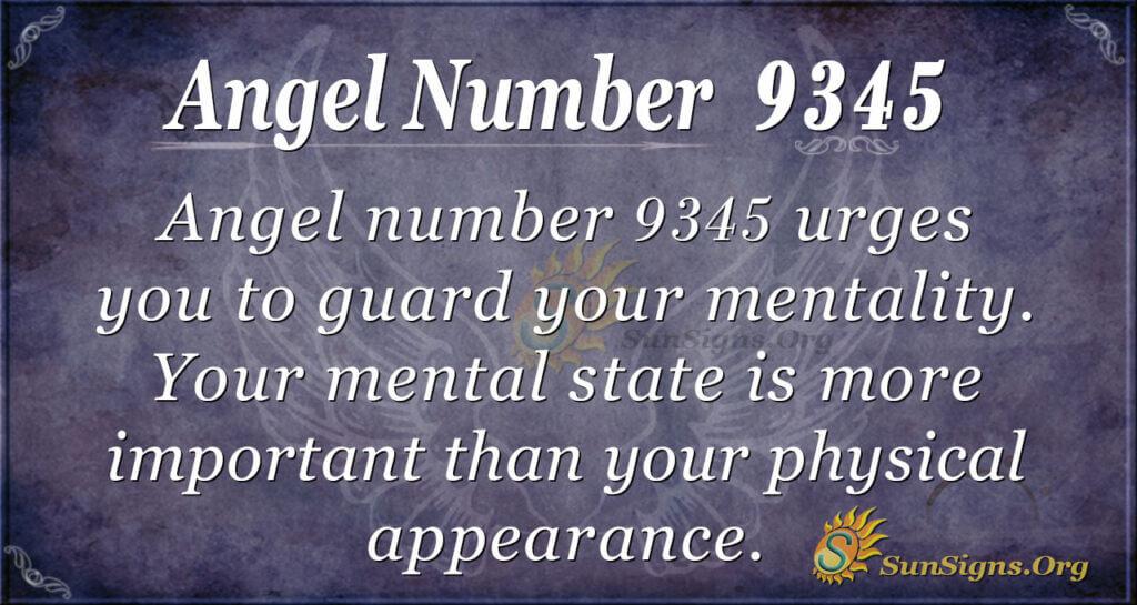 9345 angel number