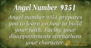 9351 angel number