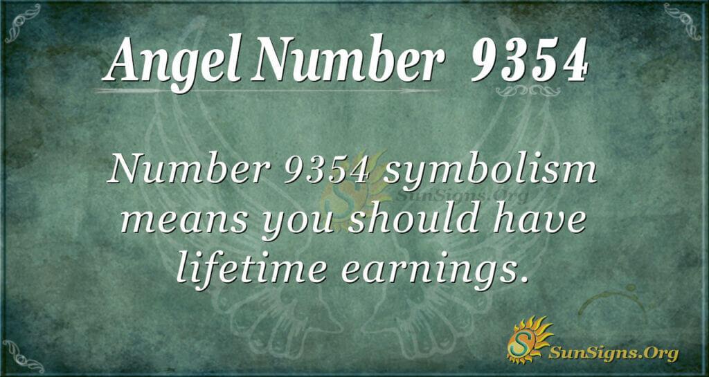 9354 angel number