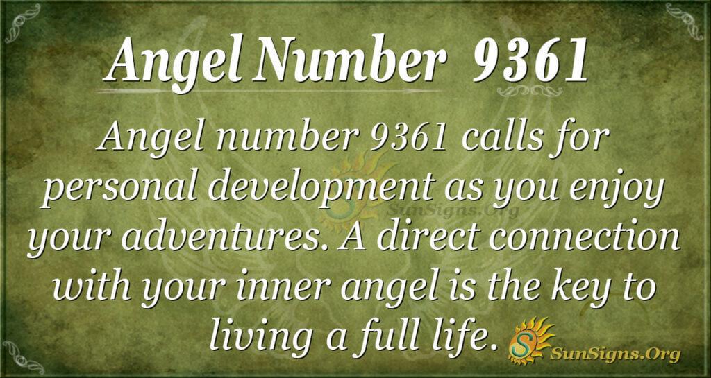 9361 angel number