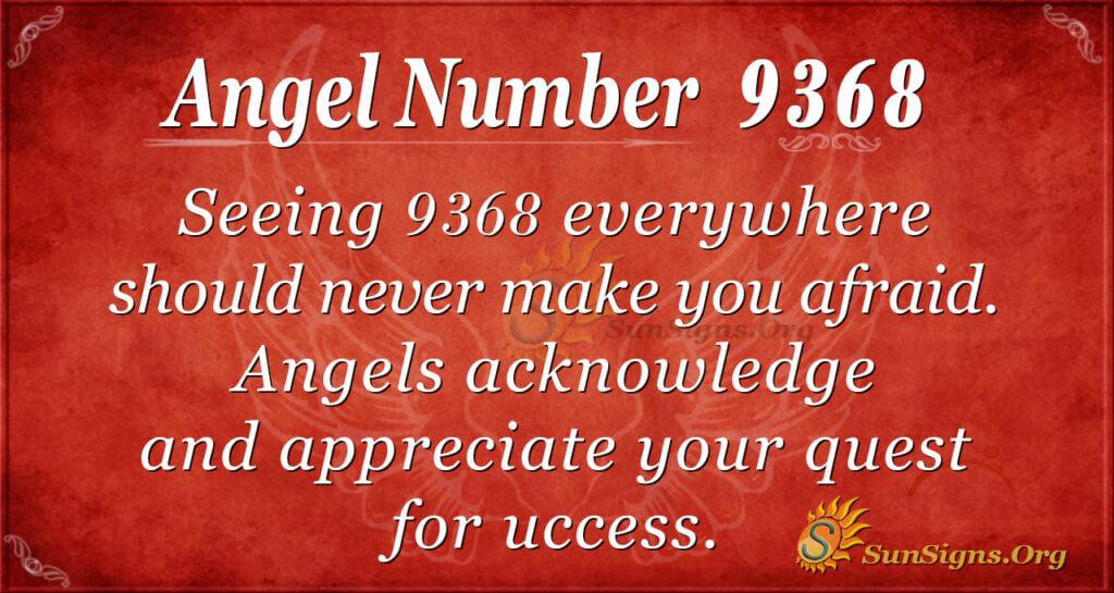 9368 angel number