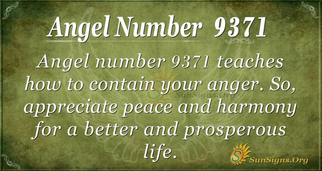 9371 angel number