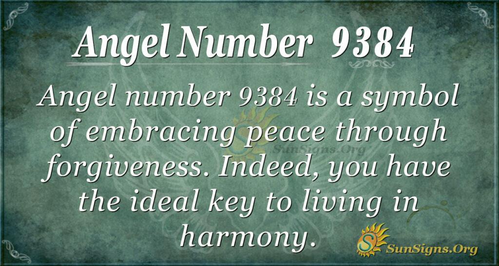 9384 angel number