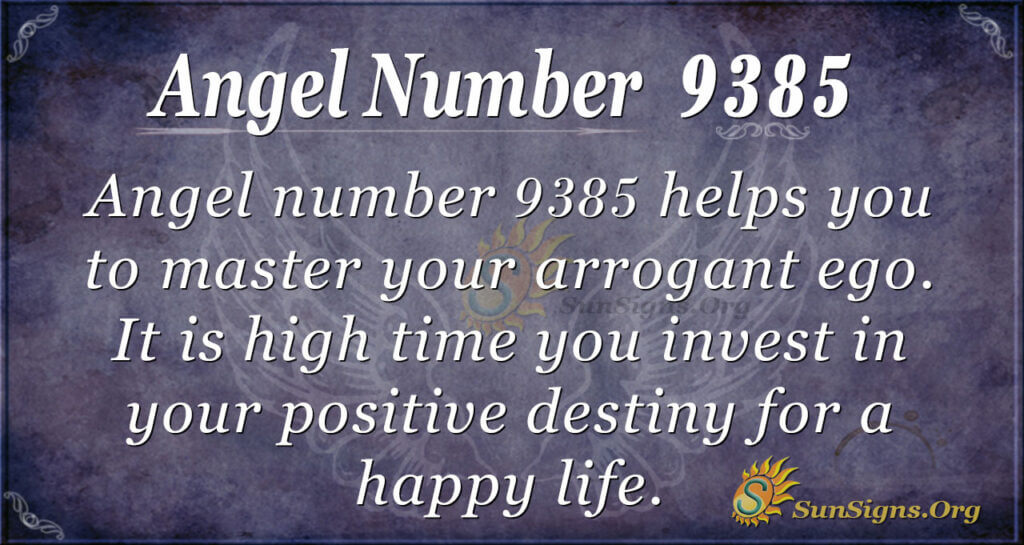 9385 angel number