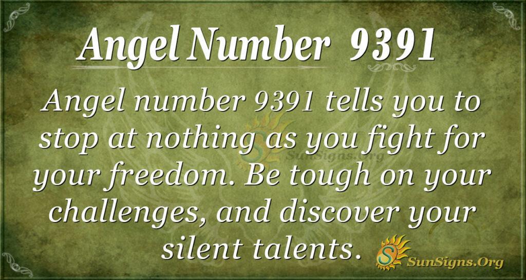 9391 angel number