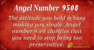 9508 angel number