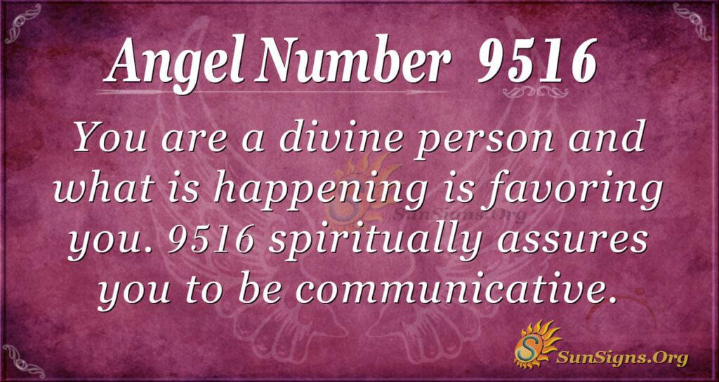 9516 angel number
