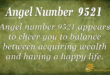 9521 angel number
