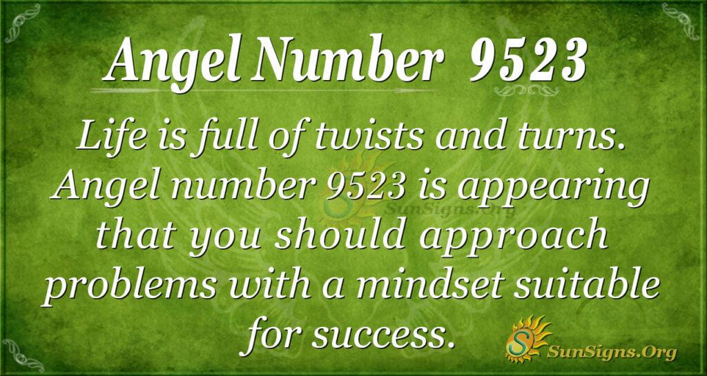 9523 angel number
