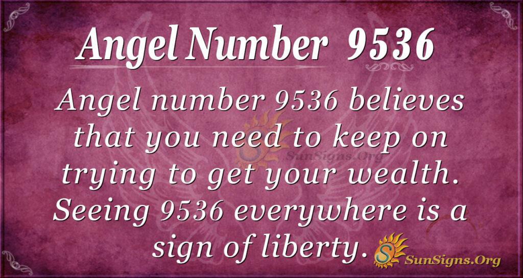 9536 angel number