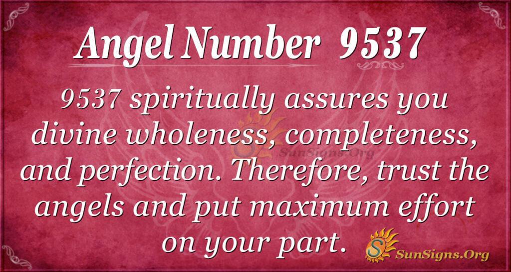 9537 angel number