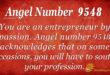 9548 angel number