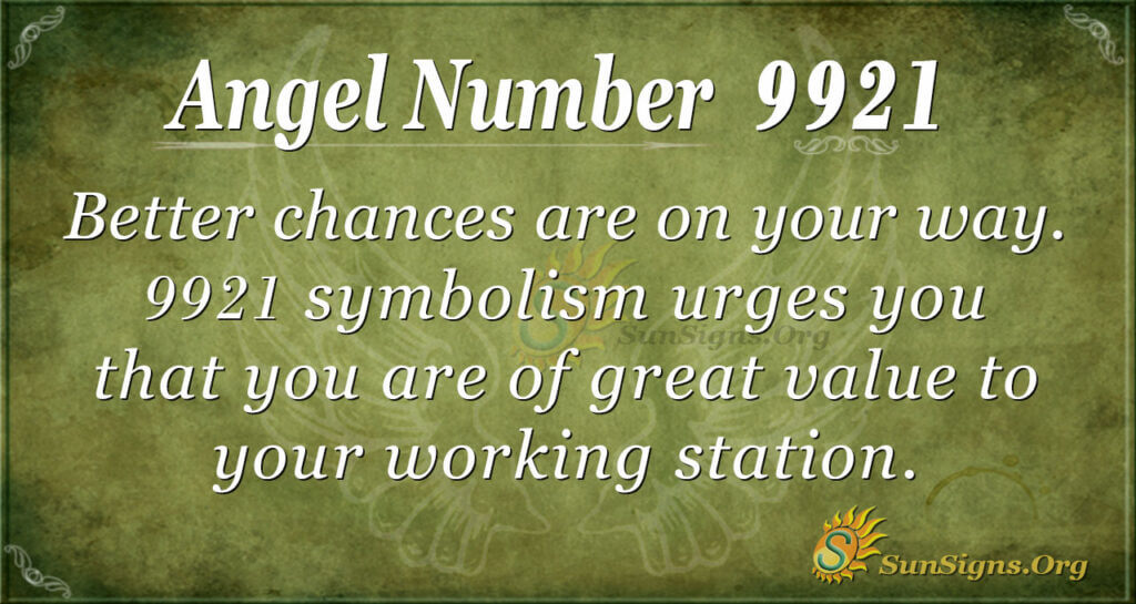 9921 angel number