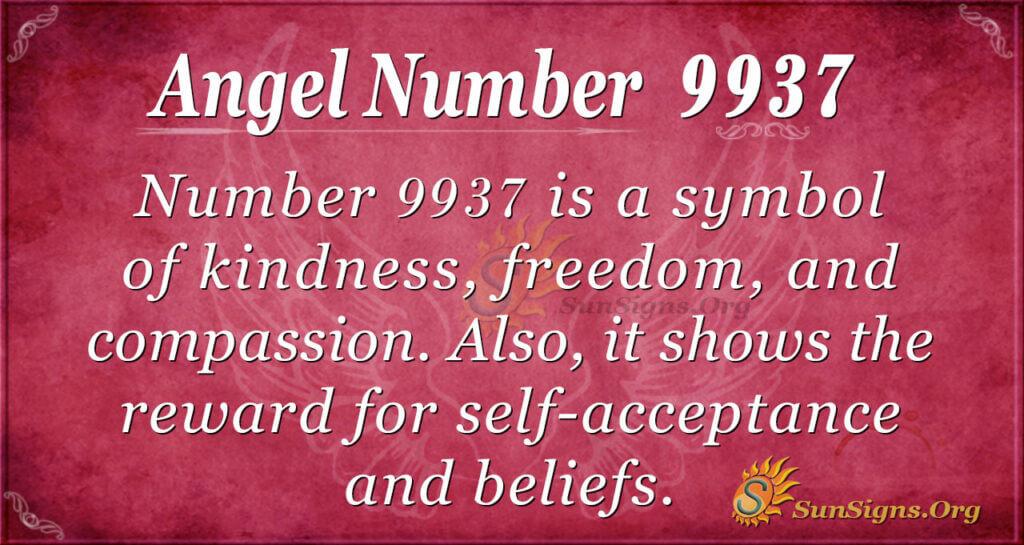 9937 angel number