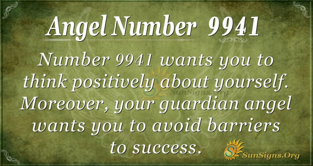 9941 angel number