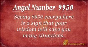 9950 angel number