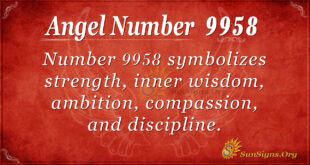 9958 angel number