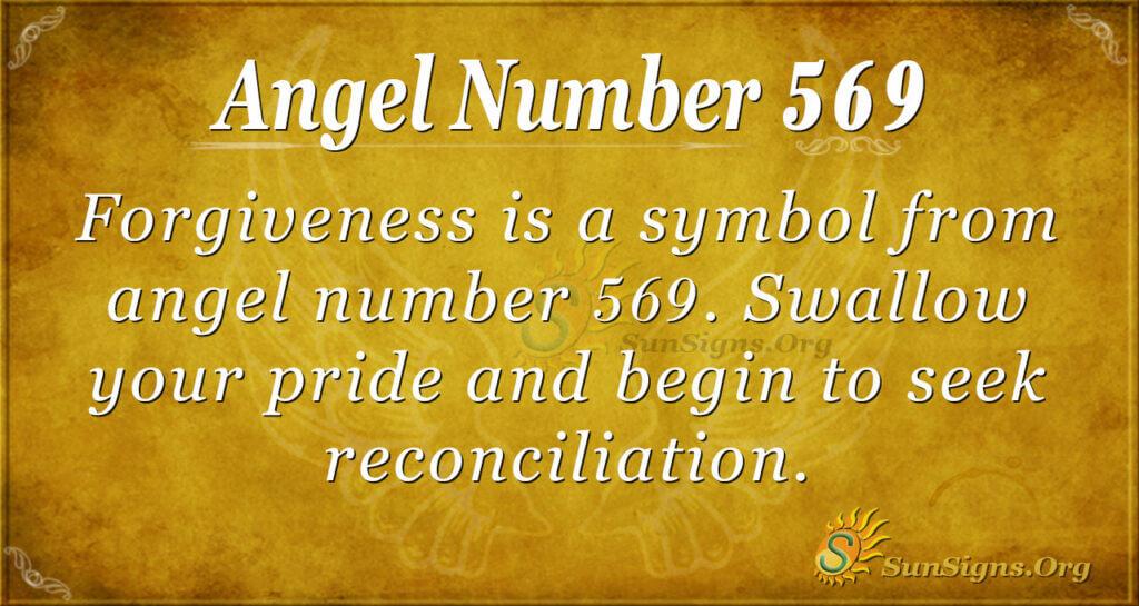 Angel Number 569