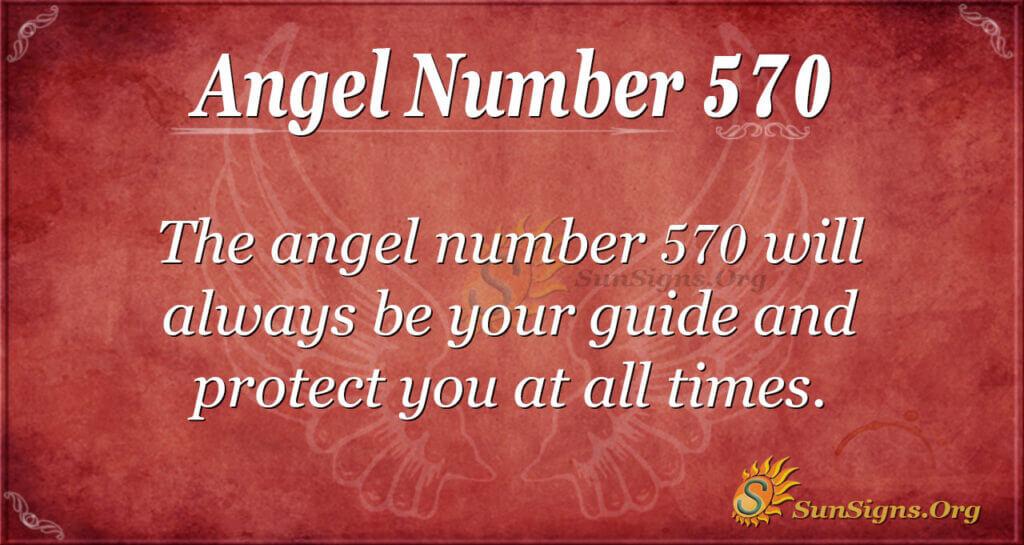 angel number 570