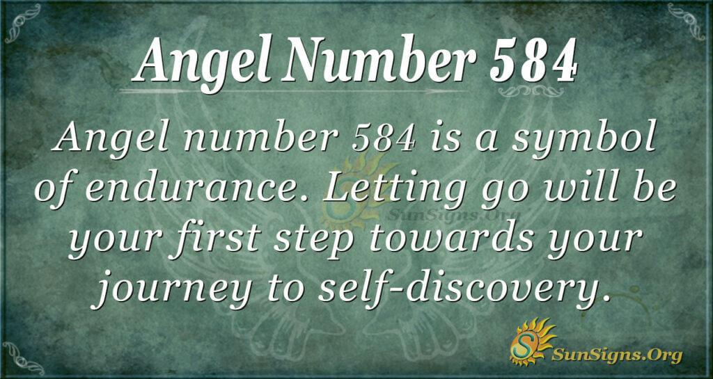 Ange Number 584