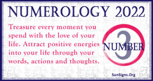 numerology number 3 2022