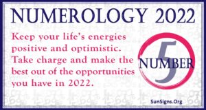 numerology number 5 2022