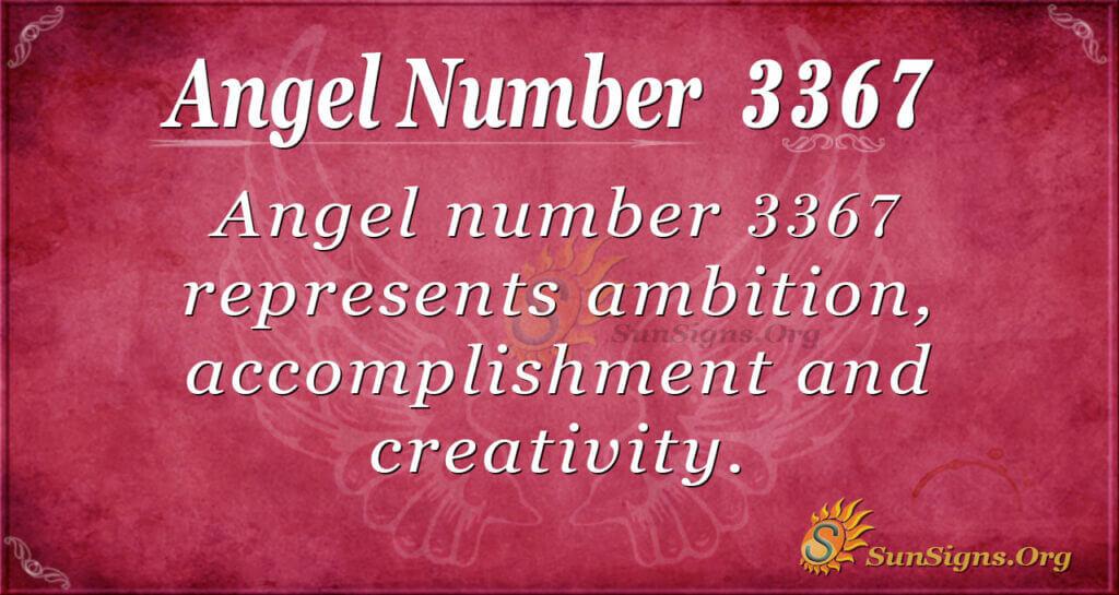 3367 angel number