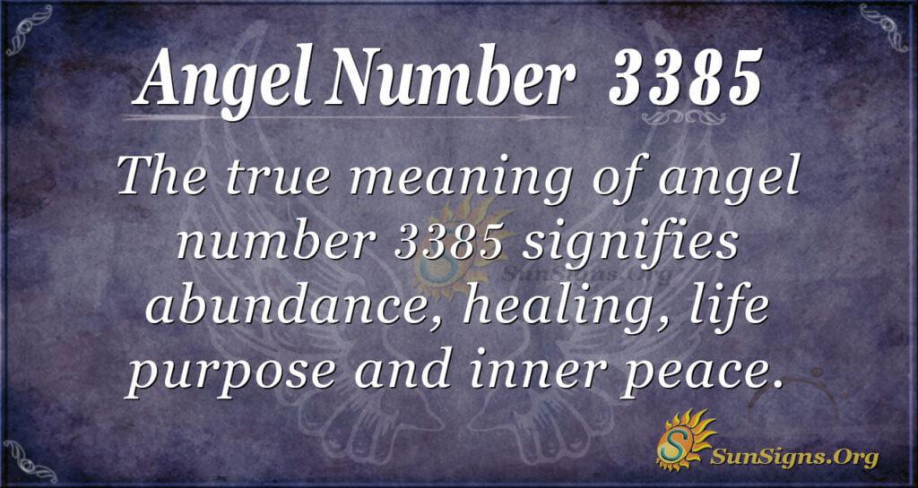 3385 angel number