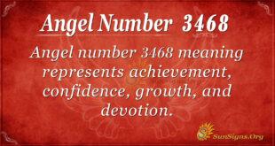 3468 angel number