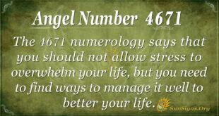 4671 angel number