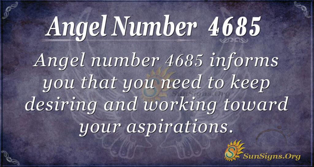 4685 angel number