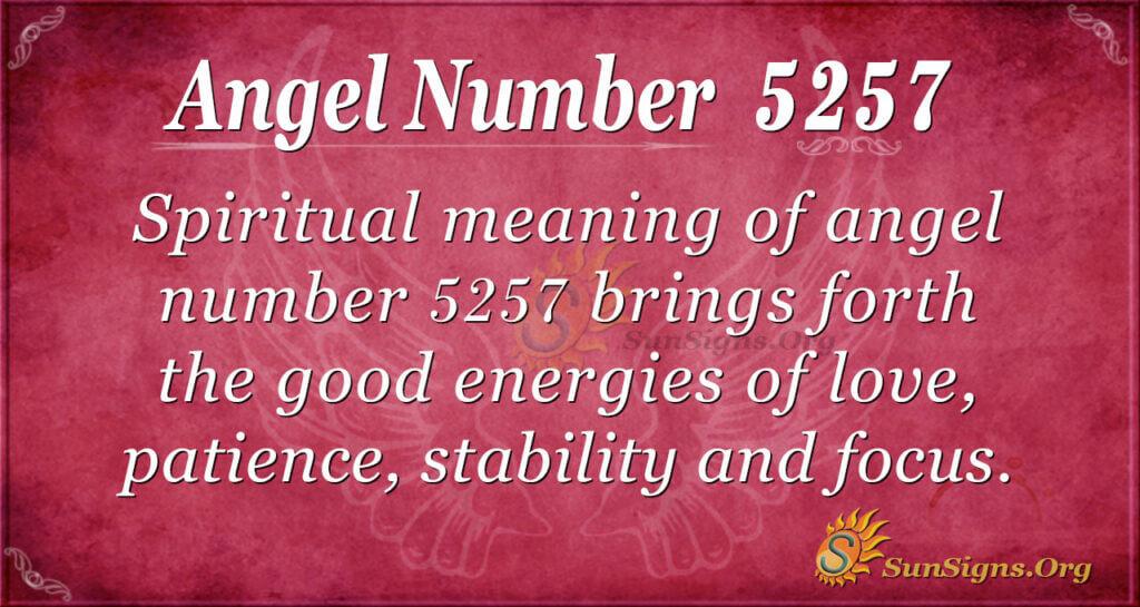 5257 angel number