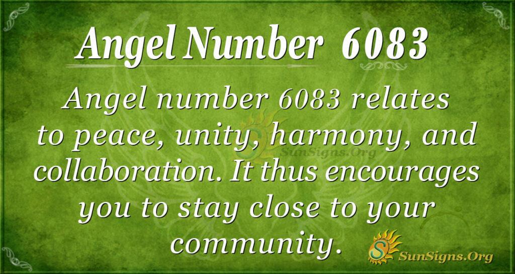 6083 angel number