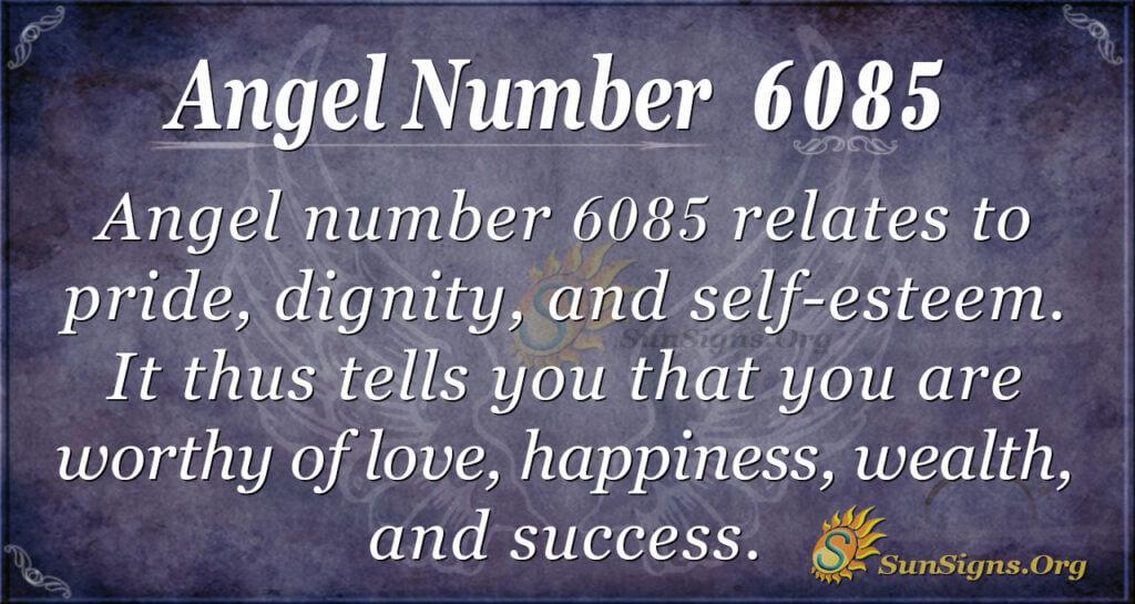 6085 angel number