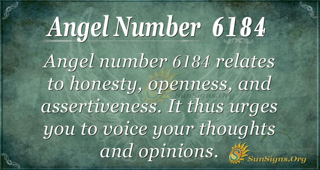 6184 angel number