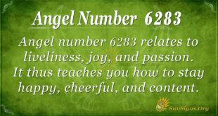 6283 angel number